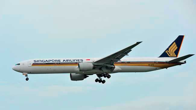 Terminal 3 hosts Singapore Airlines, Singapore's national flight partner.