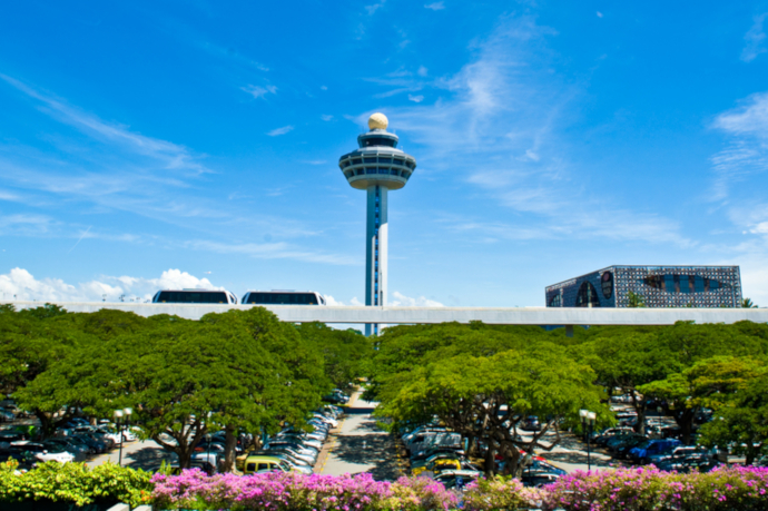 Singapore Changi Airport (SIN) serves Singapore and is one of the busiest airports in the world.