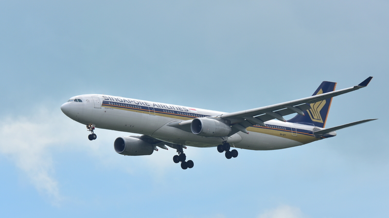 SIN Airport is the main hub for Singapore Airlines.