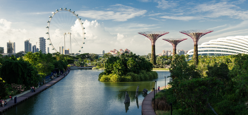 Gardens by the Bay is a must-see attraction in Singapore.